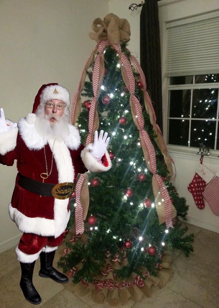 Amazing Santa Photo
