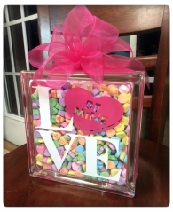 DIY Sweetheart Glass Block Tutorial {with FREE CUT FILE} by My Paper Craze
