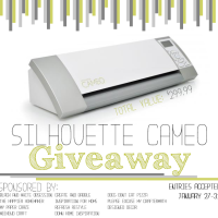 Silhouette Cameo {GIVE-A-WAY}