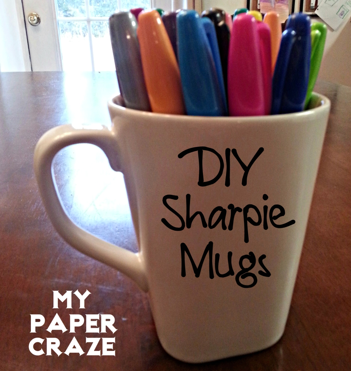 {DIY} Sharpie Mugs!