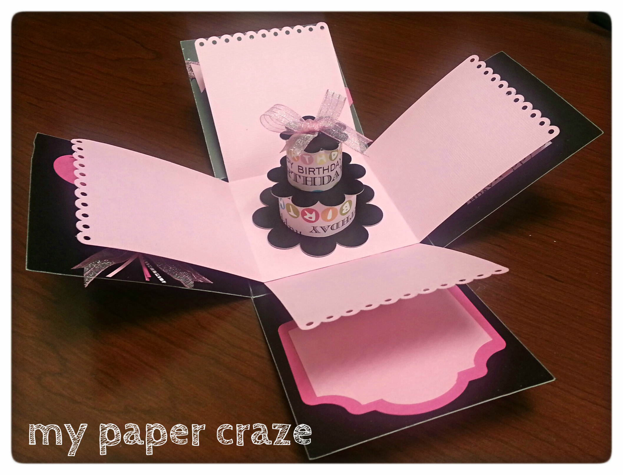 Put A Bird On It Diy Explosion Box Guest Post By Becky From My