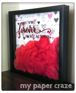 Valentine S Day Shadow Box Mypapercraze