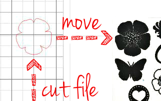 Die cuts, match, stamps, trace