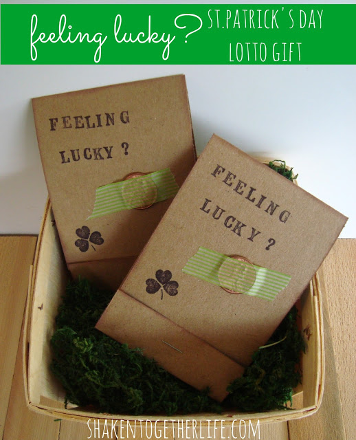 feeling lucky lotto gift BLOG