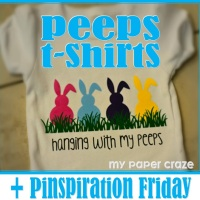 DIY Easter Peeps T- Shirt + Pinspiration Friday!