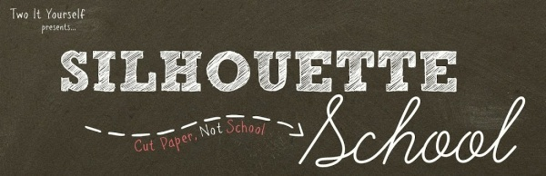 Silhouette School header with tag line