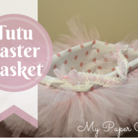 DIY Tutu Easter Basket + Pinspiration Friday